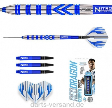 Red Dragon GERWYN PRICE 'Iceman' Blue -   24 Gramm