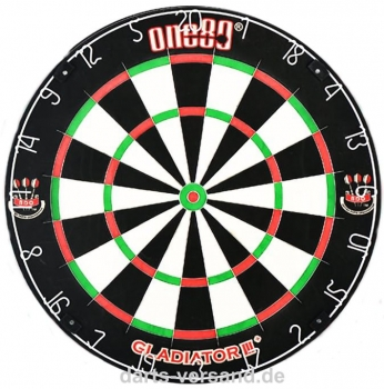 One80 'Gladiator III' Plus BDO  Bristle-Dart Board