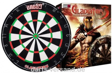 One80 'Gladiator III' Bristle-Dart Board