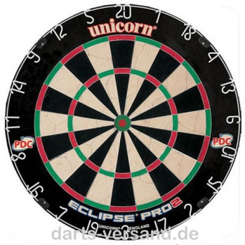 Unicorn Bristle Dartboard 'Eclipse Pro 2'