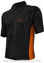 Target COOLPLAY Hybrid-Shirt 'schwarz/orange'   -   Größe 'XL'
