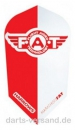 "Harrows ""F.A.T."" Flights   -   SLIM   -   Rot/Weiß"