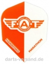 "Harrows ""F.A.T."" Flights   -   Orange/Weiß"