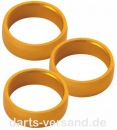 Slot-Lock Alloy Rings   -   gold